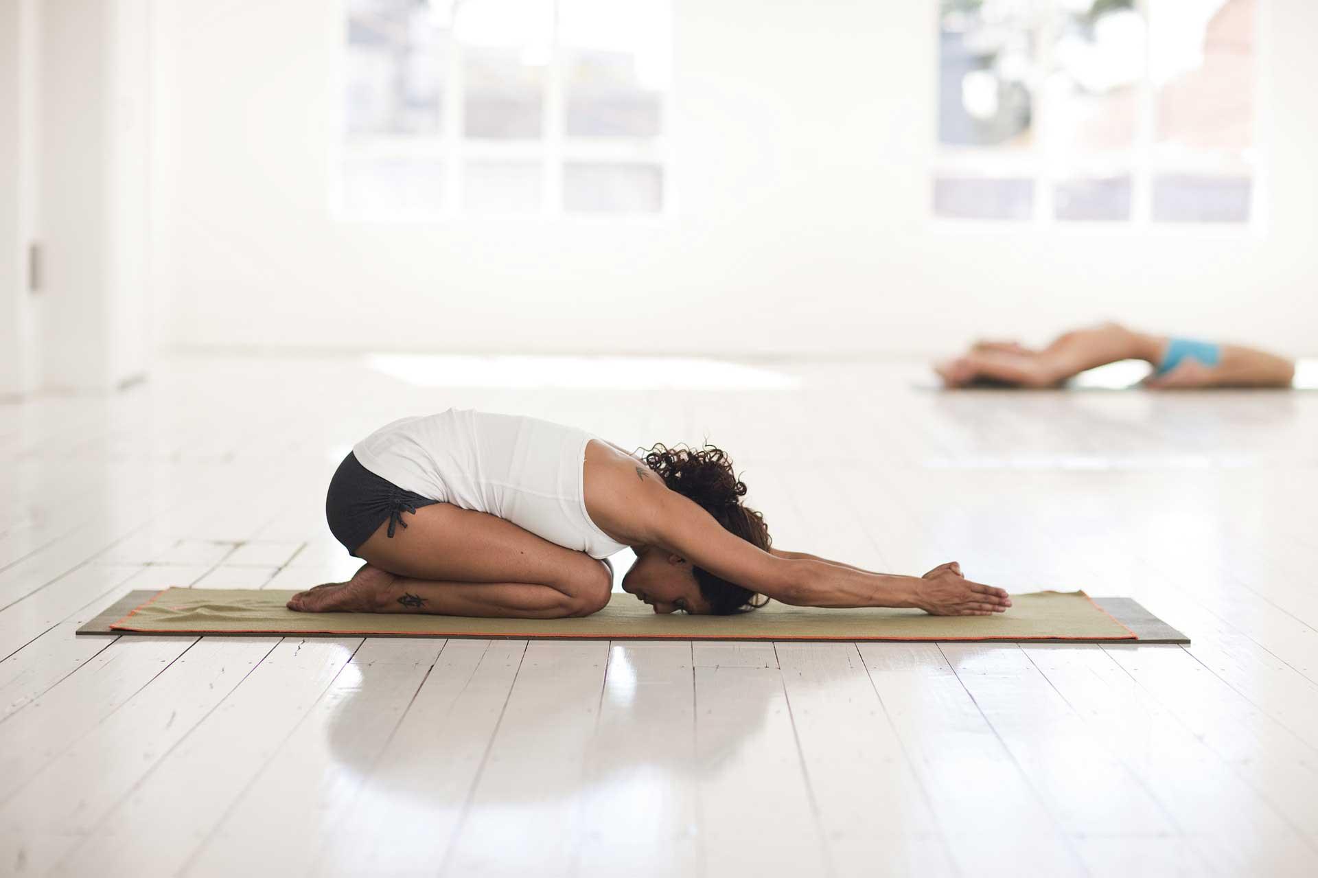 Öffnung der Yogastudios behördlich genehmigt