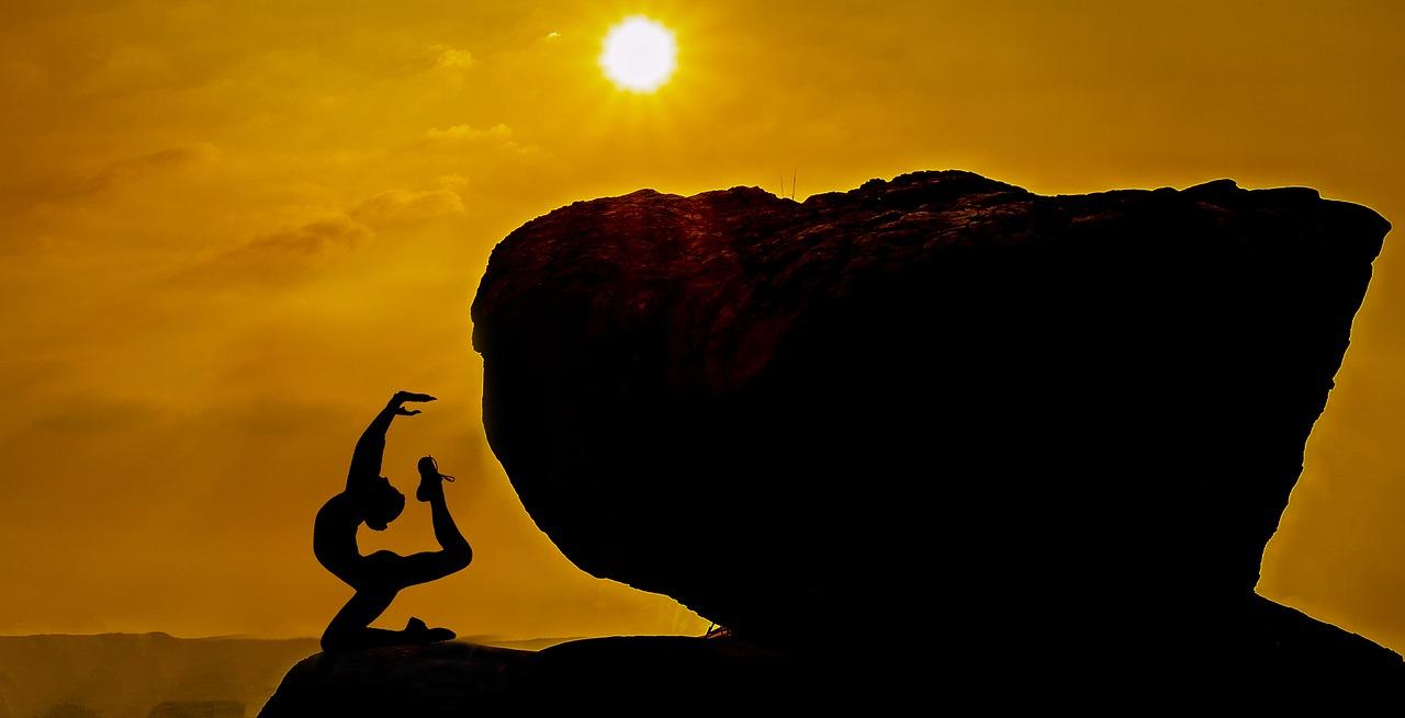 Auch die Yogalehrenden wollen beim Sport-Gipfel vertreten sein
