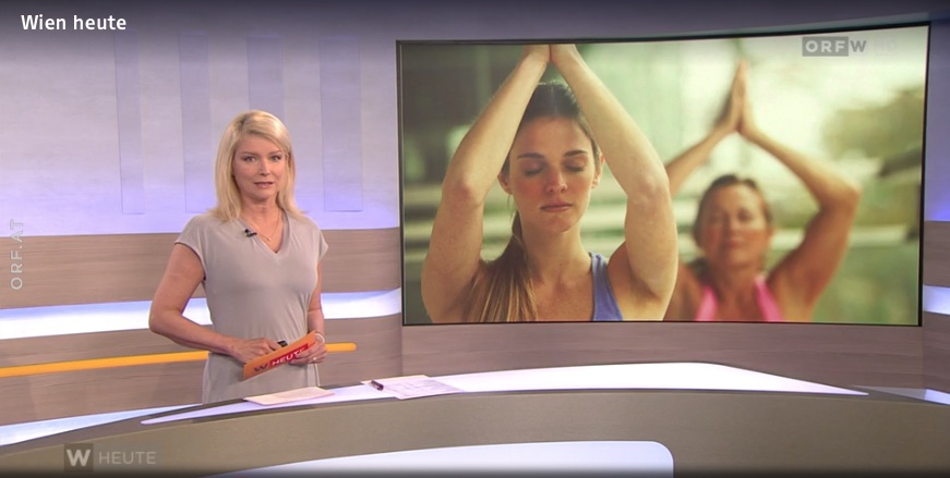 ORF Wien Heute – Yoga mit Abstand schwierig